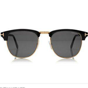 Tom Ford Henry Sunglasses Black/Gold